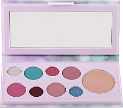 Voňavky, Parfémy, kozmetika Paleta očných tieňov a rozjasňovač - Avon Mark Pearlesque Treasure Palette For Eyes & Face