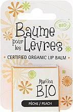 """Voňavky, Parfémy, kozmetika Balzam na pery """"Broskyňa"""" - Marilou Bio Certified Organic Lip Balm Peach"""