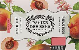 Voňavky, Parfémy, kozmetika Extra jemné mydlo s bambuckým maslom Broskyňa  - Panier des Sens Shea Butter Soap Vineyard Peach