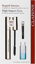 Voňavky, Parfémy, kozmetika Sada - Clarins (mascara/8ml + makeup/remover/10ml + eye/pencil/0.39g)