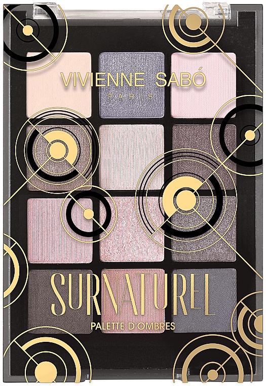 Paleta očných tieňov - Vivienne Sabo Surnaturel Eyeshadow Palette