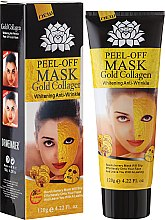 Voňavky, Parfémy, kozmetika Maska na tvár anti-age so zlatom - Pilaten Anti Aging 24K Gold Collagen Peel Off Face Mask