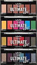 Voňavky, Parfémy, kozmetika Paleta tieňov - NYX Professional Makeup Ultimate Edit Petite Shadow Palette