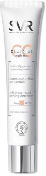 CC krém proti vekovým škvrnám - SVR Clairial CC Anti-brown Spot (Lidht)