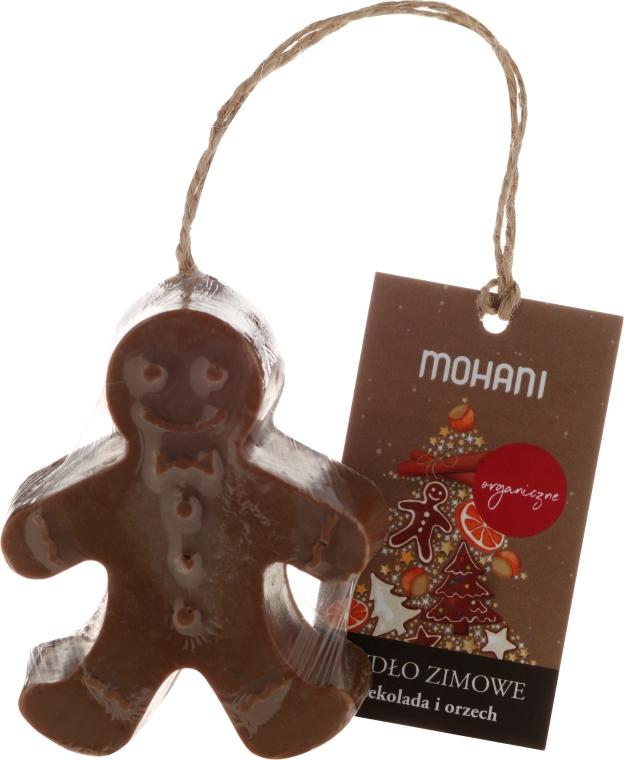 """Mydlo v zime """"Čokoláda a orech - Mohani"""