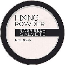 Voňavky, Parfémy, kozmetika Fixačný prášok - Gabriella Salvete Fixing Transparent Powder