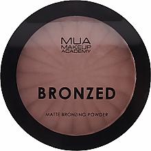 Voňavky, Parfémy, kozmetika Bronzujúci púder na tvár - MUA Bronzed Matte Bronzing Powder