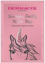 Voňavky, Parfémy, kozmetika Maska na tvár - Dermacol Beautifying Brightening Peel-Off Metallic Mask