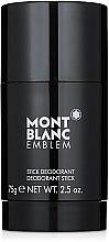 Voňavky, Parfémy, kozmetika Montblanc Emblem - Tuhý dezodorant