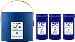 Voňavky, Parfémy, kozmetika Acqua di Parma Blu Mediterraneo - Sada (soap/3x70g)