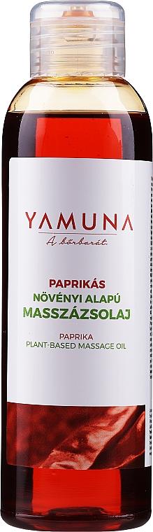 """Masážny olej """"Paprika"""" - Yamuna Paprika Plant Based Massage Oil"""