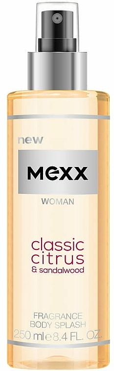 Mexx Woman Classic Citrus & Sandalwood Body Splash - Sprej na telo