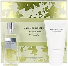 Voňavky, Parfémy, kozmetika Angel Schlesser Eau De Cologne Bergamota - Sada (edc/100ml+sh/gel/150)