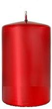 Voňavky, Parfémy, kozmetika Dekoratívna sviečka Červené zrkadlo, 7x10 cm - Artman