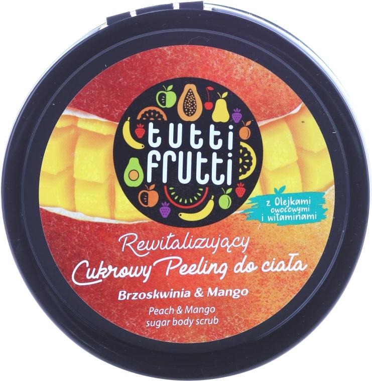 """Cukrový peeling pre telo """"Broskyňa a mango"""" - Farmona Tutti Frutti Sugar Scrub — Obrázky N1"""