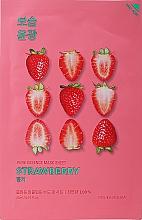 """Voňavky, Parfémy, kozmetika Látková maska """"Jahodová"""" - Holika Holika Pure Essence Mask Strawberry"""