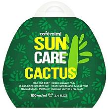"""Voňavky, Parfémy, kozmetika Hydratačný gél po opaľovaní na tvár a telo """"Kaktus"""" - Cafe Mimi Sun Care Cactus"""
