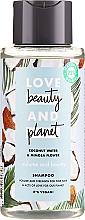 """Voňavky, Parfémy, kozmetika Šampón na vlasy """"Objem a štedrosť"""" - Love Beauty&Planet Coconat Water & Mimosa Flower"""