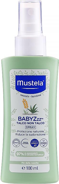 Sprej proti komárom - Mustela Bebe BabyZzz Talco Non Talco