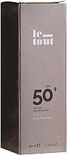 Voňavky, Parfémy, kozmetika Krém s SPF ochranou na tvár SPF 50 - Le Tout Facial Sun Protect