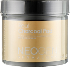Voňavky, Parfémy, kozmetika Hydratačné peelingové tampóny s dreveným uhlím - Neogen Dermalogy Real Charcoal Pad
