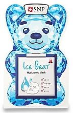 Voňavky, Parfémy, kozmetika Maska na tvár s kyselinou hyalurónovou - SNP Ice Bear Hyaluronic Mask