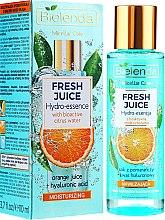 """Voňavky, Parfémy, kozmetika Hydratačná esencia na tvár """"Pomaranč"""" - Bielenda Fresh Juice Hydro Essential Orange"""