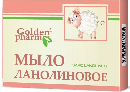 """Mydlo """"lanolín"""" - Golden-Farm  — Obrázky N1"""