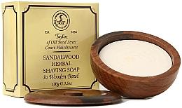 """Voňavky, Parfémy, kozmetika Mydlo na holenie """"Santalové drevo"""" - Taylor Of Old Bond Street Sandalwood Herbal Shaving Soap"""