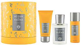 Voňavky, Parfémy, kozmetika Acqua Di Parma Colonia Pura - Sada (edc/100ml + sh/gel/75ml + deo/50ml)