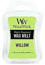 Voňavky, Parfémy, kozmetika Vonný vosk - WoodWick Wax Melt Willow