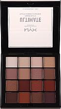 Voňavky, Parfémy, kozmetika Paleta tieňov - Nyx Professional Makeup Ultimate Shadow Palette