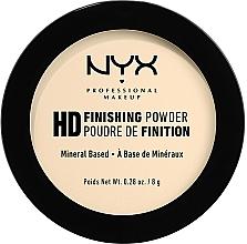 Voňavky, Parfémy, kozmetika Fixačný prášok - NYX Professional Makeup High Definition Finishing Powder