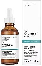 Voňavky, Parfémy, kozmetika Multipeptidové sérum na zahustenie vlasov - The Ordinary Multi Peptide Serum For Hair Density