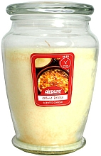 Voňavky, Parfémy, kozmetika Vonná sviečka Creme brulee - Airpure Creme Brulee Scented Candle