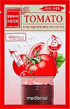 "Voňavky, Parfémy, kozmetika Maska na tvár ""Tomato"" - Mediental Botanic Garden Mask"