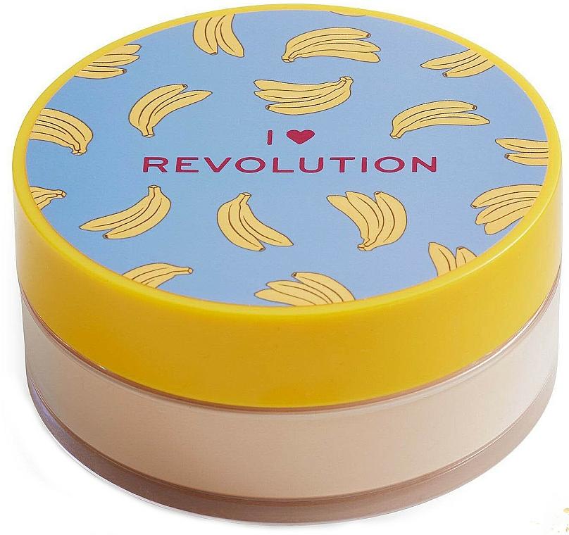 Sypký púder na tvár banánový - I Heart Revolution Loose Baking Powder Banana