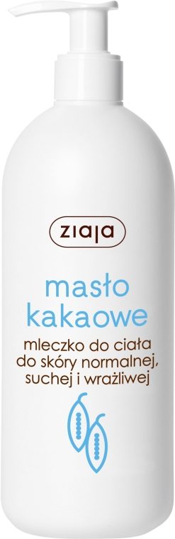 "Telové mlieko ""Kakaové maslo"" - Ziaja Milk Body"