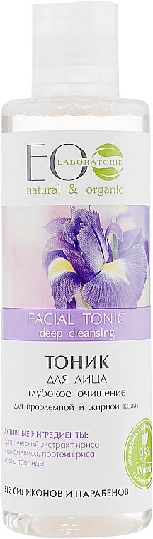 "Tonikum na tvár ""Hlboké čistenie"" - ECO Laboratorie Facial Tonic"