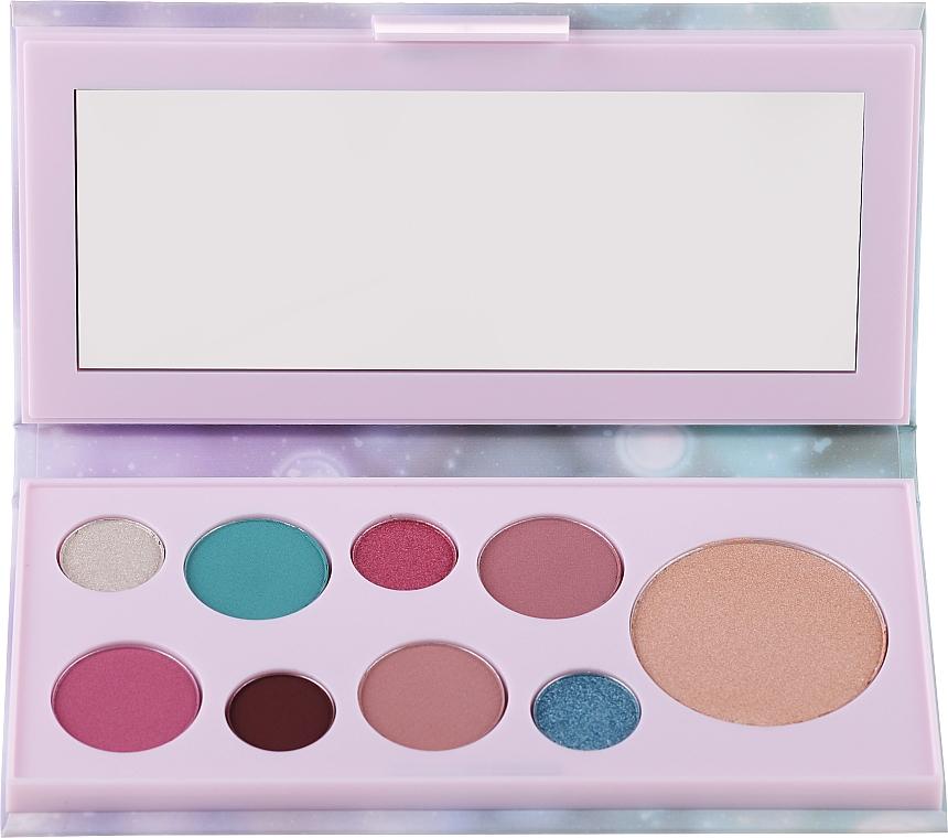 Paleta očných tieňov a rozjasňovač - Avon Mark Pearlesque Treasure Palette For Eyes & Face