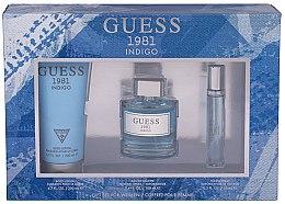 Voňavky, Parfémy, kozmetika Guess 1981 Indigo for Women - Sada (edt/100ml + b/lot/200 + edt/15ml)