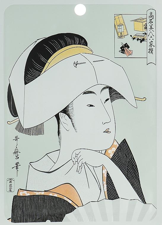 """Textilná maska na tvár """"Kyselina hyalurónová a Lithospermum"""" - Mitomo Essence Sheet Mask Hyaluronic + Lithospermum"""