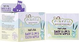 Voňavky, Parfémy, kozmetika Detské utierky na čistenie ďasien a zubov - Jack N' Jill