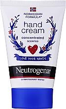 """Voňavky, Parfémy, kozmetika Voňajúci koncentrovaný krém na ruky """"Nórsky vzorec"""" - Neutrogena Norwegian Formula Concentrated Hand Cream"""