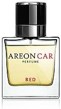 Voňavky, Parfémy, kozmetika Osviežovač vzduchu do auta - Areon Luxury Car Perfume Long Lasting Red