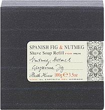 Voňavky, Parfémy, kozmetika Bath House Spanish Fig and Nutmeg - Mydlo na holenie (vymeniteľná jednotka)