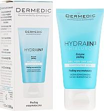 Voňavky, Parfémy, kozmetika Enzýmový peeling na tvár a krk - Dermedic Hydrain3 Hialuro Peel
