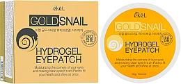 Voňavky, Parfémy, kozmetika Hydrogélové náplasti pod oči so zlatom a slimačím mucínom - Ekel Ample Hydrogel Eyepatch