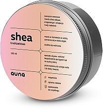 Voňavky, Parfémy, kozmetika Bambucké maslo na tvár a telo Jahoda - Auna Shea Strawberry Butter
