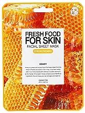 Voňavky, Parfémy, kozmetika Textilná maska na tvár Med - Superfood For Skin Facial Sheet Mask Honey Strenghtening